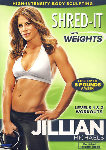 Jillian Michaels - Shred-It With Weights (LG) DVD Movie