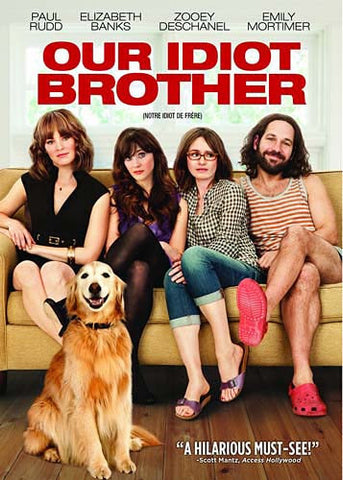 Our Idiot Brother (Bilingual) DVD Movie