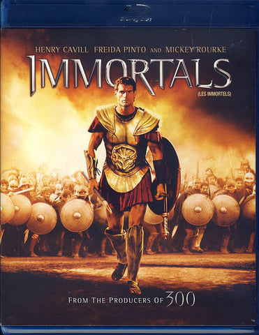 Immortals (Bilingual) (Blu-ray) BLU-RAY Movie