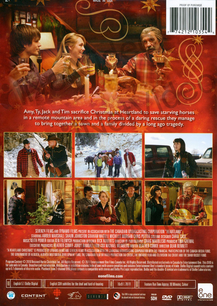 A Heartland Christmas.A Heartland Christmas On Dvd Movie