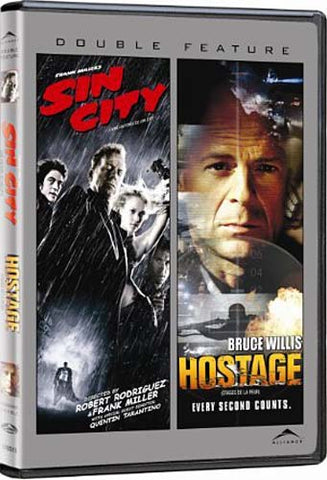 Sin City/Hostage (Double Feature) (Bilingual) DVD Movie