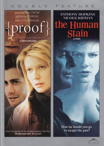 Proof/The Human Stain (Double Feature) (Bilingual) DVD Movie