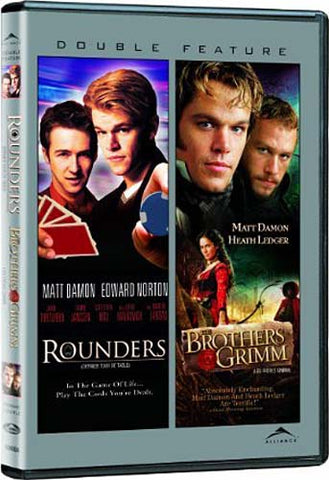 Rounders/Brothers Grimm (Double Feature) (Bilingual) DVD Movie
