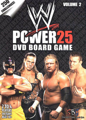 WWE World Wrestling Entertainment Power 25 DVD Board Game - Volume 2