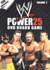 WWE World Wrestling Entertainment Power 25 DVD Board Game - Volume 2 DVD Movie