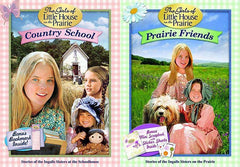 The Girls of Little House on the Prairie - Country School / Prairie Friends (2 pack)