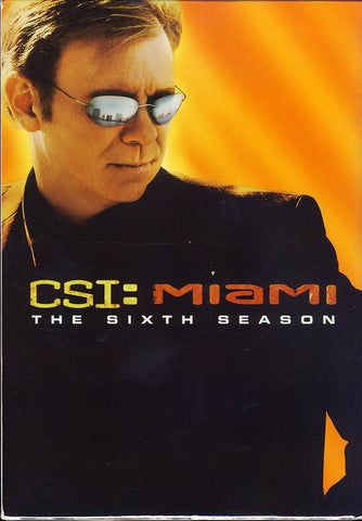 CSI: Miami - Season 6 (Boxset) DVD Movie