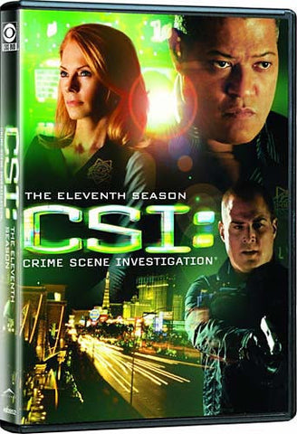 CSI - Crime Scene Investigation - The Eleventh (11th) Season (Boxset) DVD Movie