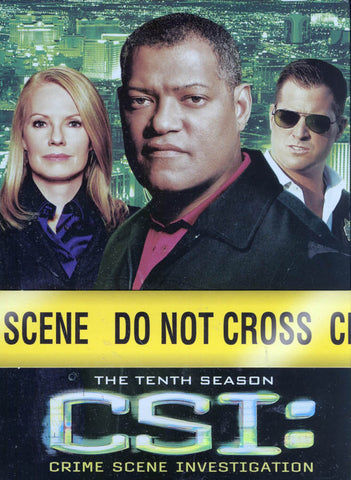 CSI - Crime Scene Investigation - The Complete Season 10 (Boxset) DVD Movie