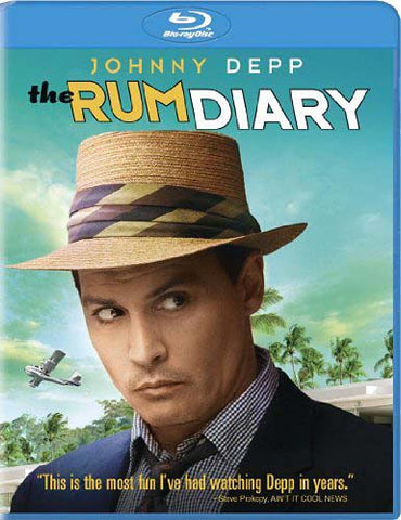 The Rum Diary (Blu-ray) BLU-RAY Movie
