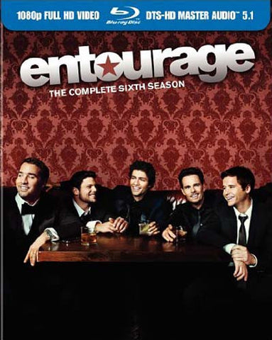 Entourage - The Complete Sixth (6th) Season (Blu-ray) (Boxset) BLU-RAY Movie