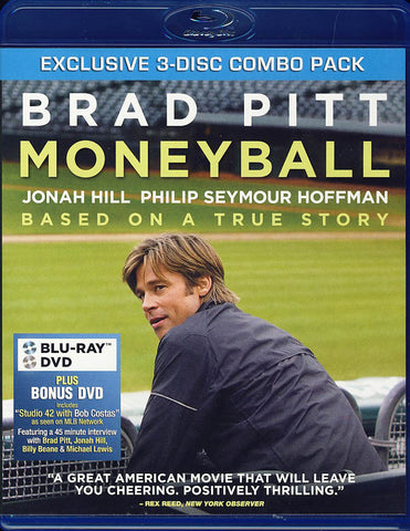 Moneyball (Blu-ray/DVD Combo) (Blu-ray) BLU-RAY Movie
