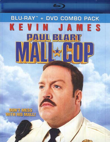Paul Blart - Mall Cop (Blu-ray+DVD Combo) (Blu-ray) BLU-RAY Movie