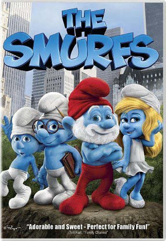The Smurfs DVD Movie