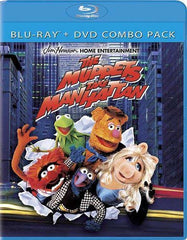 The Muppets Take Manhattan (Blu-ray+DVD Combo) (Blu-ray)