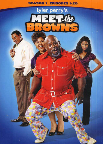 Meet The Browns - Season 1 (One) (Episodes 1-20) (Boxset) (LG) DVD Movie