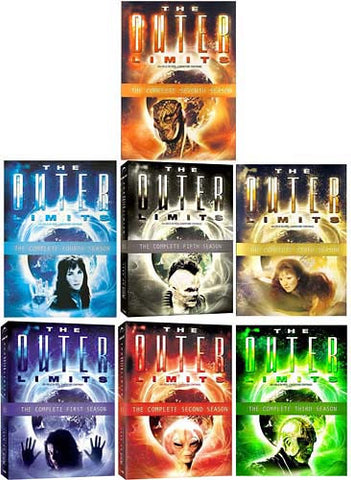 The Outer Limits - The Complete First/Second/Third/Fourth/Fifth/Sixth/Seventh Season (7 Pack) DVD Movie
