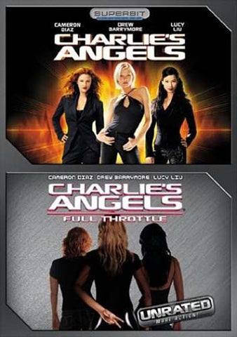 Charlie's Angels (Superbit Deluxe) / Charlie's Angels - Full Throttle (Unrated) (Boxset) DVD Movie