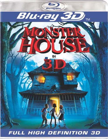 Monster House (Blu-ray 3D Version) (Blu-ray) BLU-RAY Movie