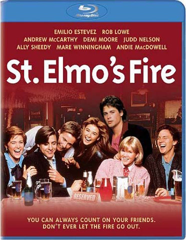 St. Elmo's Fire (Blu-ray) BLU-RAY Movie
