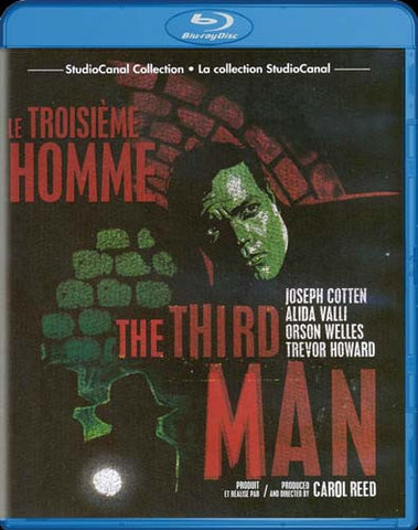 The Third Man (Studio Canal Collection) (Bilingual) (Blu-ray) BLU-RAY Movie