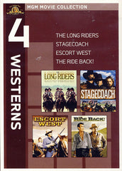 MGM 4 Westerns - The Long Riders / Stagecoach / Escort West / The Ride Back