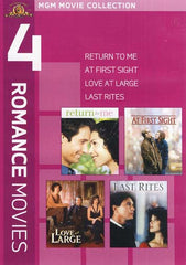 MGM 4 Romance Movies - Return To Me / At First Sight / Love At Large / Last Rites