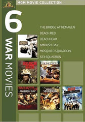 MGM 6 War Movies (The Bridge at Remagen....633 Squadron) (Boxset)