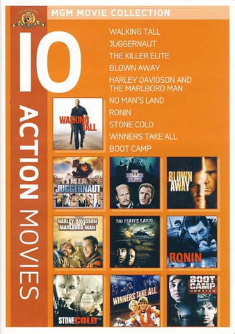 MGM 10 Action Movies (Walking Tall..............Boot Camp) (Boxset) DVD Movie