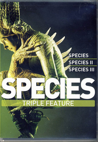 Species Triple Feature (1,2,3) (Boxset) DVD Movie