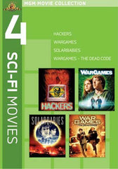 MGM 4 Sci-Fi Movies - Hackers / Wargames / Solarbabies / Wargames - The Dead Code