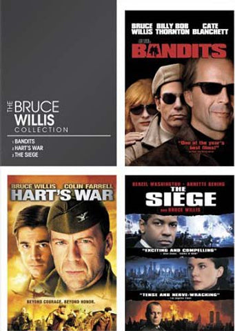 The Bruce Willis Collection (Bandits / The Siege / Hart s War) (Keepcase) DVD Movie