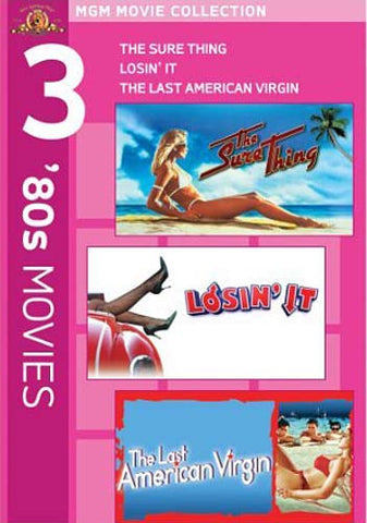 MGM 380s Movies - The Sure Thing / LosinIt / Last American Virgin (Boxset) DVD Movie