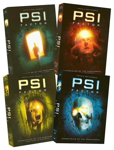 PSI Factor - Chronicles of the Paranormal - Season One / Two / Three / Four (4 Pack) (Boxset) DVD Movie