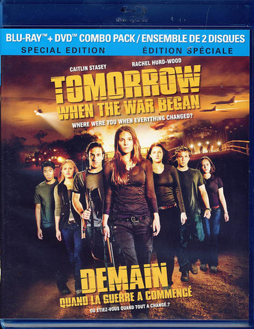 Tomorrow When The War Began (DVD/Blu-ray Combo) (Blu-ray) (Bilingual) BLU-RAY Movie