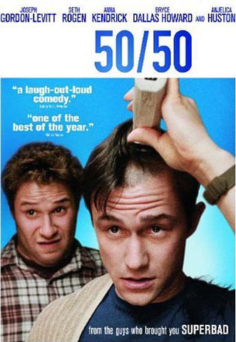 50/50(Bilingual) DVD Movie