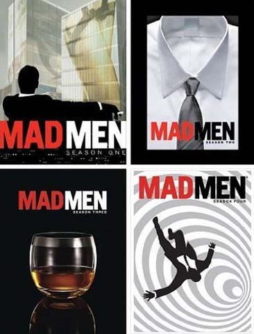 Mad Men: Seasons 1-4 (4 Pack) (Boxset) DVD Movie