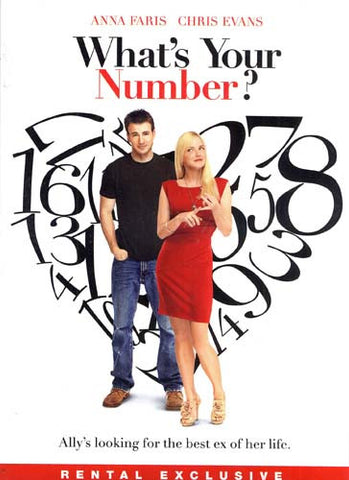 What's Your Number DVD Movie