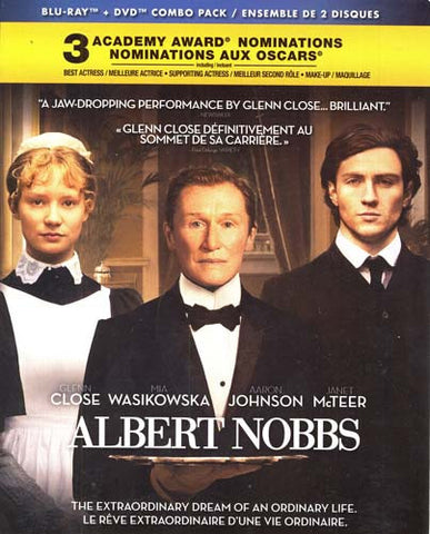 Albert Nobbs (Bilingual) (Blu-ray + DVD Combo) (Bilingual) (Blu-ray) BLU-RAY Movie