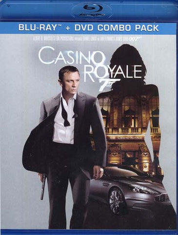 Casino Royale (Blu-ray+DVD Combo) (Blu-ray) BLU-RAY Movie
