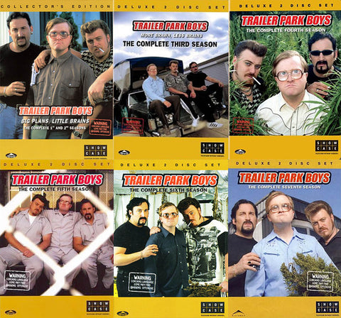 Trailer Park Boys - The Complete Season 1st and 2nd / 3 / 4 / 5 / 6 / 7 (6 Pack) (Boxset) DVD Movie