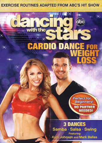 Dancing With the Stars - Cardio Dance for Weight Loss DVD Movie