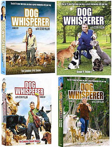 Dog Whisperer With Cesar Millan - The Complete Season 1 / 2 / 3 / 4 (vol I) (4 Pack) (Boxset) DVD Movie