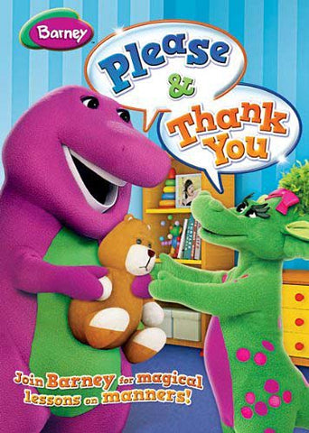 Barney - Please And Thank You DVD Movie