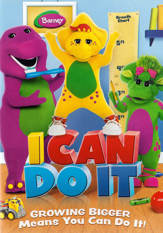 Barney - I Can Do It DVD Movie