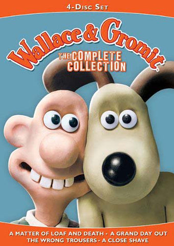 Wallace And Gromit - The Complete Collection  (A Matter of Loaf and Death..A Close Shave) (Boxset) DVD Movie