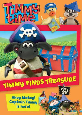 Timmy Time - Timmy Finds Treasure (All) DVD Movie
