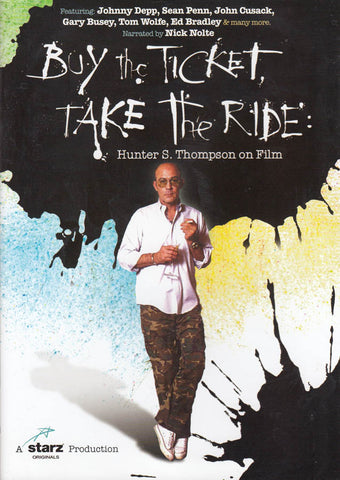 Buy the Ticket, Take the Ride DVD Movie