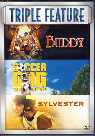 Buddy/Soccer Dog/Sylvester (Triple Feature) DVD Movie