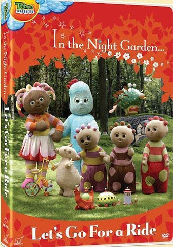 In The Night Garden Lets Go For A Ride DVD Movie